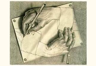Escher-handen